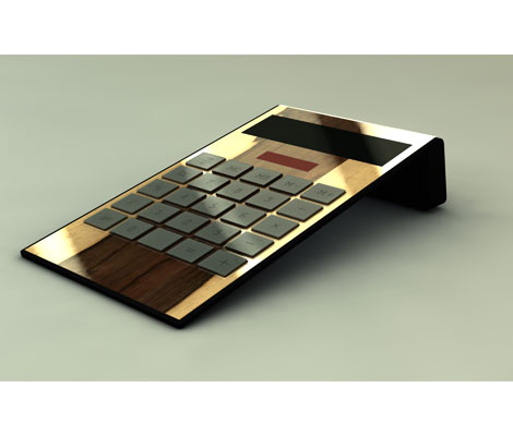 Design components testa motari design manufaktur for Design tisch taschenrechner